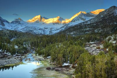 USA, California, Sierra Nevada Range. Mack Lake at Sunrise-Dennis Flaherty-Photographic Print