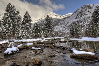 USA, California, Sierra Nevada Range. Spring Snow at North Lake-Dennis Flaherty-Photographic Print