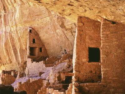 USA, Colorado, Mesa Verde, Long House-John Ford-Photographic Print