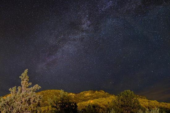 USA, Colorado. Milky Way Above Mountains-Jaynes Gallery-Photographic Print