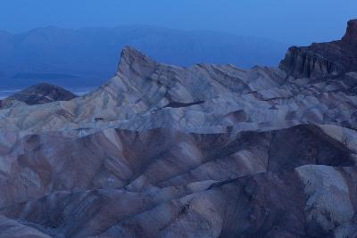 USA, Death Valley National Park, Zabriskie Point, Sunrise-Catharina Lux-Photographic Print