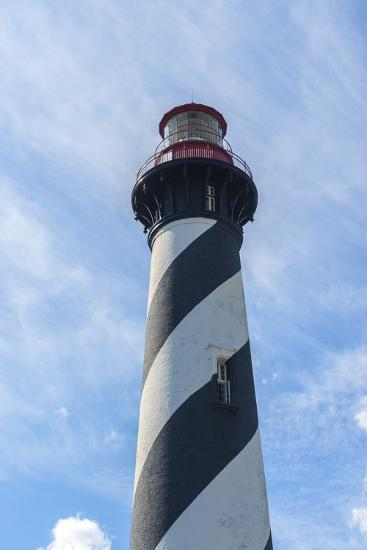 USA, Florida, St. Augustine, Lighthouse-Jim Engelbrecht-Photographic Print
