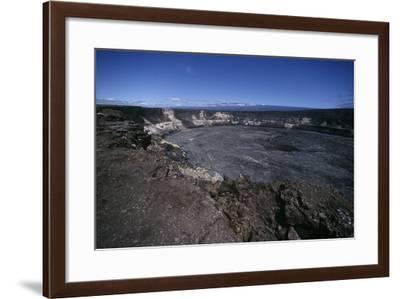 USA, Hawaii, Hawaii Volcanoes National Park, Kilauea Volcano, Halemaumau Crater--Framed Giclee Print