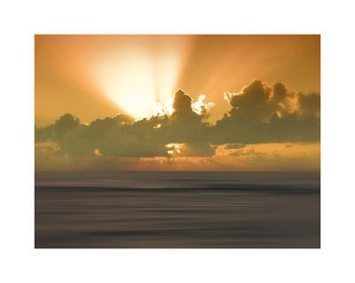USA, Hawaii, Kauai, sunset-Savanah Plank-Giclee Print