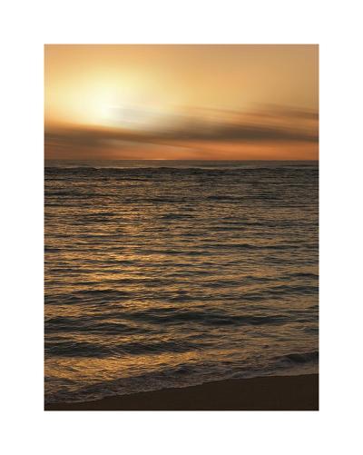 USA, Hawaii, Kauai, sunset-Savanah Plank-Giclee Print