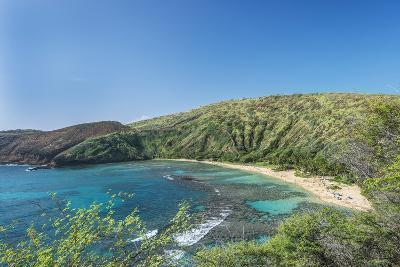 USA, Hawaii, Oahu, Hanauma Bay-Rob Tilley-Photographic Print