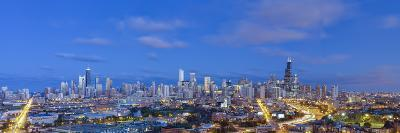 Usa, Illinois, Chicago, City Skyline-Gavin Hellier-Photographic Print