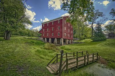 USA, Indiana, Cutler. Adams Mill-Rona Schwarz-Photographic Print