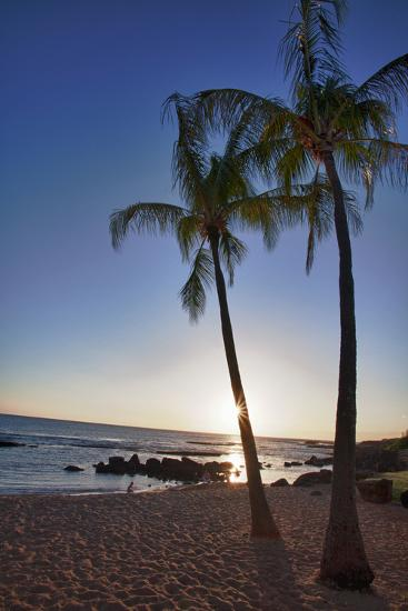 USA, Kauai, Evening Light on the Westside of Kauai-Terry Eggers-Photographic Print