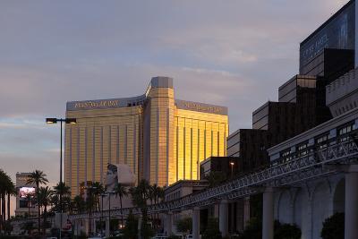 USA, Las Vegas, Hotel Mandala Bay, Evening Light-Catharina Lux-Photographic Print