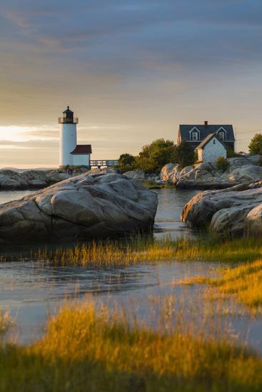 USA, Massachusetts, Gloucester, Annisquam, Annisquam Lighhouse-Walter Bibikow-Photographic Print