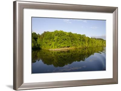 USA, Mississippi. Early evening along the Tenn-Tom Waterway.-Cindy Miller Hopkins-Framed Photographic Print