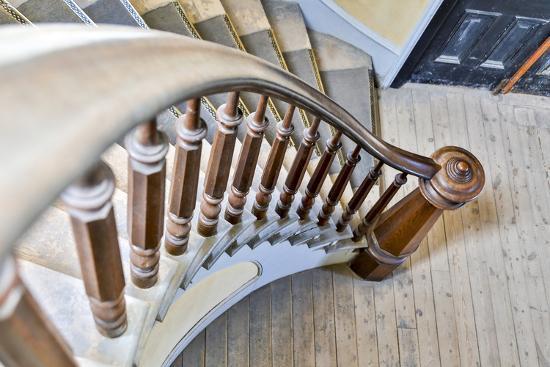 USA, Montana, Bannack State Park, Staircase-Hollice Looney-Premium Photographic Print