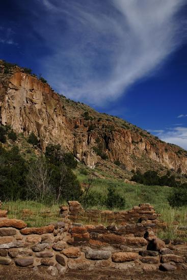 USA, Near Los Alamos, New Mexico, Bandelier National Monument--Giclee Print