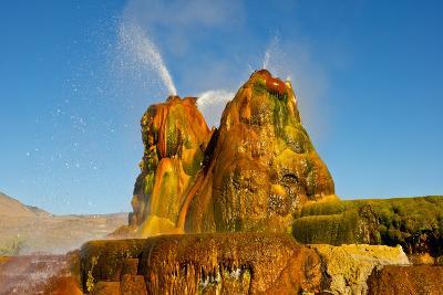 USA, Nevada, Gerlach, Fly Geyser, Black Rock Desert-Bernard Friel-Photographic Print