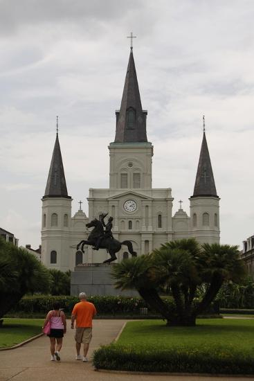 USA, New Orleans, Cathedral-Basilica of Saint Louis, King of France--Giclee Print