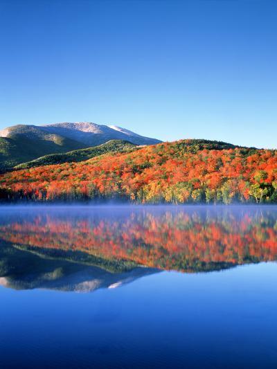 USA, New York, Adirondack Mountains. Algonquin Peak and Heart Lake-Jaynes Gallery-Photographic Print