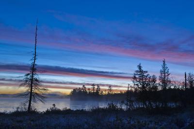 USA, New York, Adirondack Mountains. Raquette Lake at Sunrise-Jaynes Gallery-Photographic Print