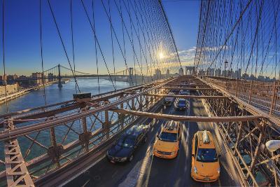 Usa, New York City, Brooklyn Bridge-Michele Falzone-Photographic Print