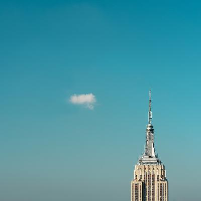 Usa, New York City, Empire State Building Pinnacle-Tetra Images-Photographic Print