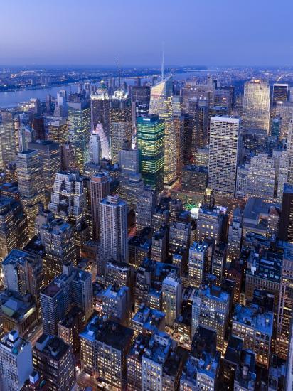 USA, New York City, Manhattan, Midtown-Gavin Hellier-Photographic Print