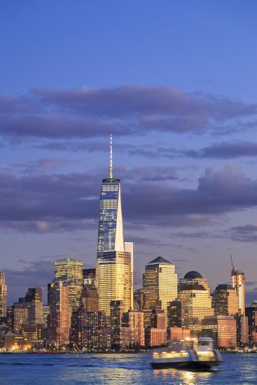Usa, New York, New York City, Lower Manhattan Skyline-Michele Falzone-Photographic Print