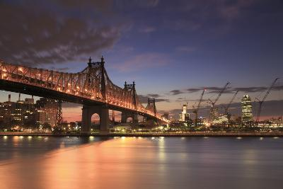 Usa, New York, New York City, Manhattan, Ed Koch Queensboro Bridge-Michele Falzone-Photographic Print
