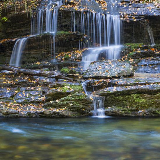 USA, North Carolina, Great Smoky Mountains. Scenic of Tom Branch Falls.-Jaynes Gallery-Photographic Print