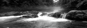Usa, North Carolina, Tennessee, Great Smoky Mountains National Park, Little Pigeon River