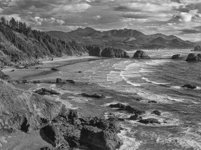 USA, Oregon, Coast Canon Beach-John Ford-Photographic Print