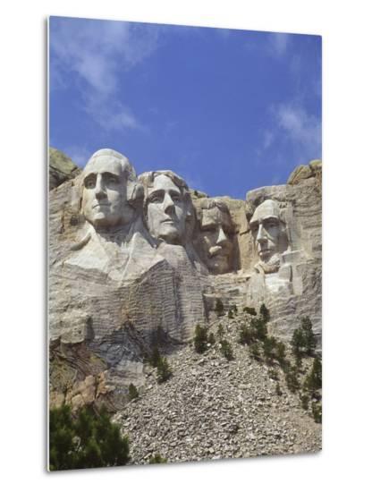 Usa south dakota mount rushmore stone carvings of us