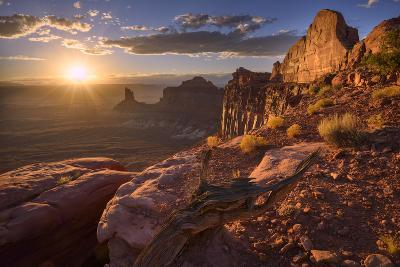 Usa, Southwest,Colorado Plateau, Utah, Canyonland National Park, Island in the Sky-Christian Heeb-Photographic Print