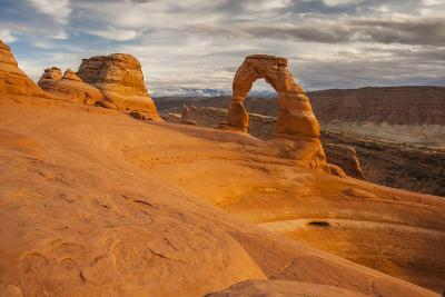 USA, Utah, Arches National Park. Delicate Arch at Sunset-Cathy & Gordon Illg-Photographic Print