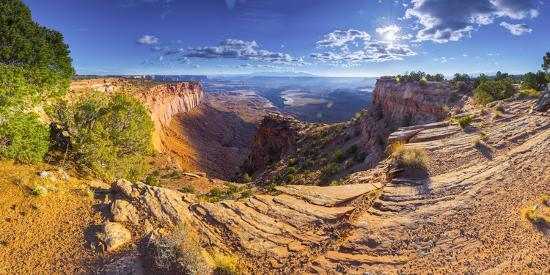 Usa, Utah, Canyonlands National Park, Island in the Sky District, Buck Canyon Overlook-Alan Copson-Photographic Print
