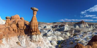 Usa, Utah, Grand Staircase Escalante National Monument, the Toadstools-Alan Copson-Photographic Print