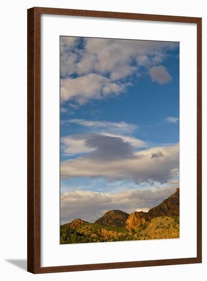USA, Utah, Zion National Park. Late Light on Kolob Canyon-Jaynes Gallery-Framed Photographic Print