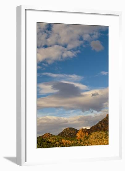 USA, Utah, Zion National Park. Late Light on Kolob Canyon-Jaynes Gallery-Framed Photographic Print
