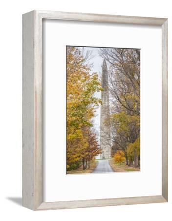 USA, Vermont, Bennington. The Bennington Monument-Walter Bibikow-Framed Photographic Print