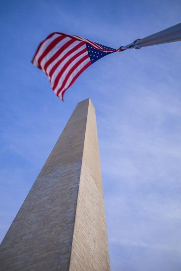 USA, Washington D.C. National Mall, Washington Monument-Walter Bibikow-Photographic Print