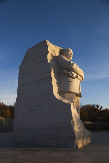 USA, Washington Dc, Martin Luther King Memorial, Sunrise-Walter Bibikow-Photographic Print