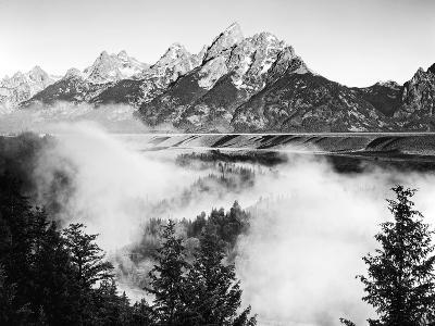 USA, Wyoming, Grand Teton National Park. Mountain Sunrise-Dennis Flaherty-Photographic Print