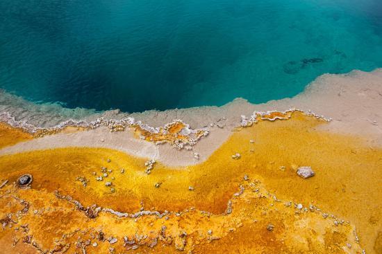 USA, Yellowstone National Park, West Thumb Geyser Basin, Black Pool-Catharina Lux-Photographic Print