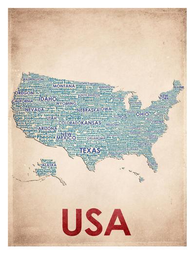USA--Art Print