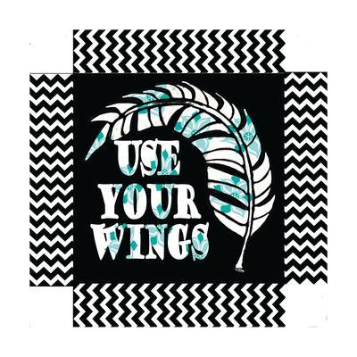 Use Your Wing Art Box-Shanni Welch-Art Print