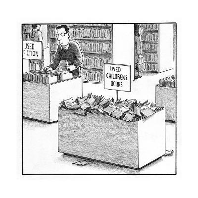 Used Children's Books - Cartoon-Harry Bliss-Premium Giclee Print