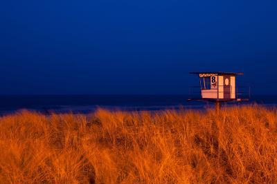 Usedom, Baltic Sea Spa Bansin, Beach, Dlrg Lifeguard Tower-Catharina Lux-Photographic Print