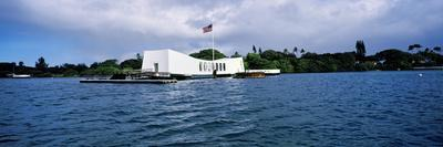 Uss Arizona Memorial, Pearl Harbor, Honolulu, Hawaii, USA--Photographic Print