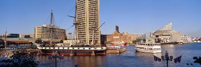 Uss Constellation, Inner Harbor, Baltimore, Maryland--Photographic Print