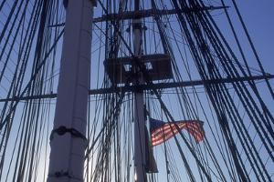USS Constitution's Masts and Rigging, Boston