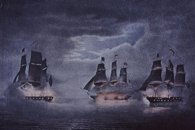 Uss Constitution--Giclee Print